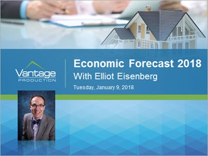 Economic Forecast 2018 - Elliot Eisenberg